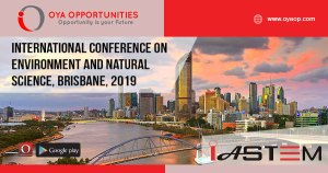 International Conference on Environment and Natural Science, Brisbane