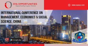 Internation conference on Economics, Management and Social Science in Guanzhou, China