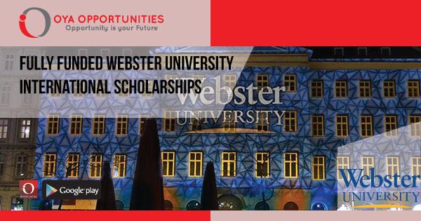 Fully Funded Webster University International Scholarships