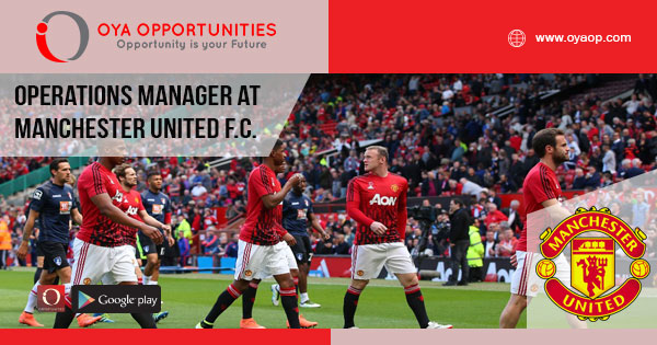 jobs at Manchester United F.C.