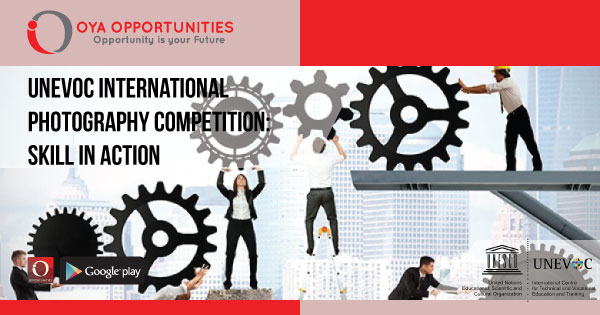 UNEVOC International Photography Competition: #SkillsinAction