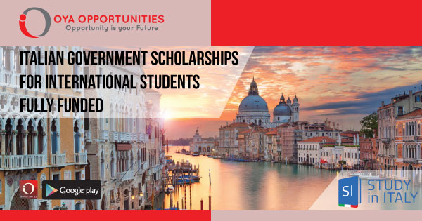 Fully Funded Italian Government Scholarships for International Students