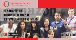 How to Apply for Internship at Amazon: Software Engineering Intern