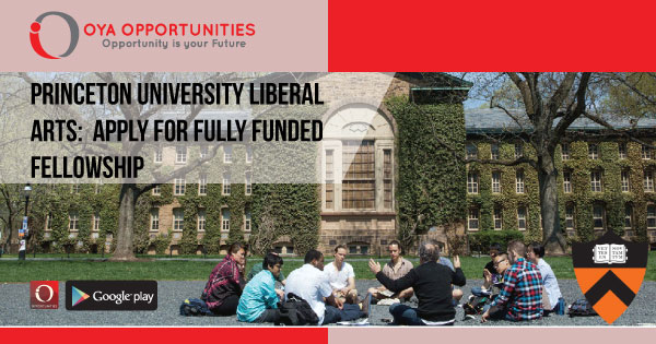 How to Apply for Fully Funded Liberal Arts Fellowship at Princeton University