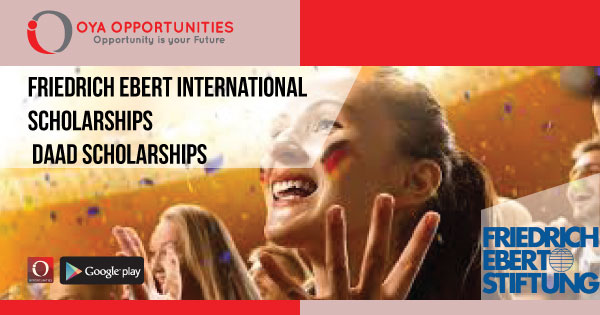 Friedrich Ebert International Scholarships DAAD Scholarships