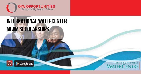 Fully Funded International WaterCenter MIWM Scholarships