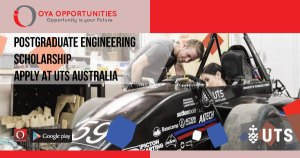 Postgraduate Engineering Scholarship | Apply at UTS Australia
