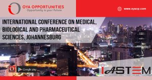 International Conference on Medical, Biological and Pharmaceutical Sciences, Johannesburg