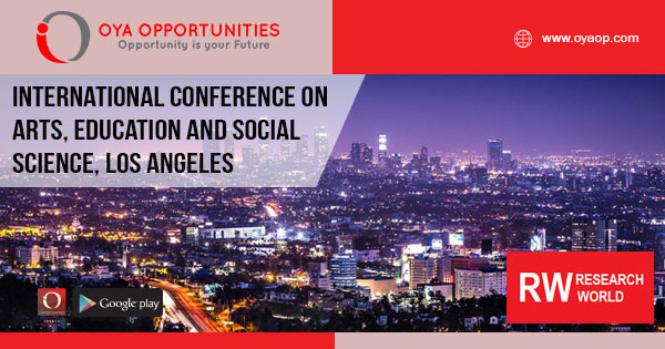 International Conference on Arts, Education and Social Science, Los Angeles