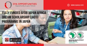 Fully Funded AfDB Japan Africa Dream Scholarship (JADS) Programme in Japan