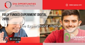 Fully Funded Experiment Digital 2019