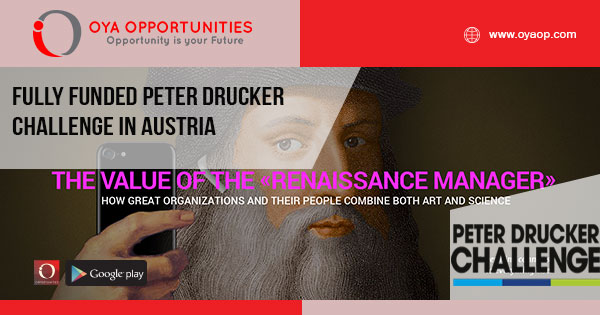 Fully Funded Peter Drucker Challenge in Austria