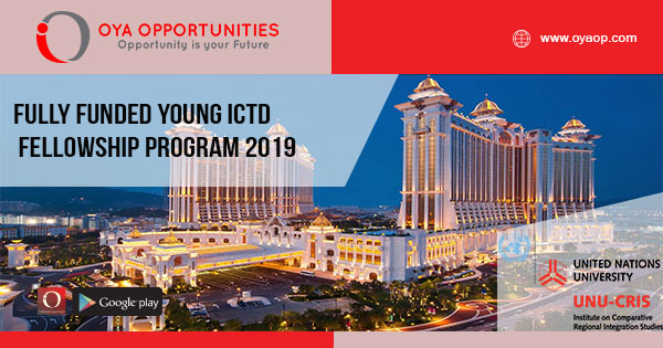 Fully Funded Young ICTD Fellowship program 2019