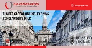 Funded Global Online Learning Scholarships in UK
