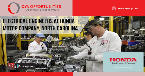 Engineering Jobs at Honda Motor Company, Greensboro