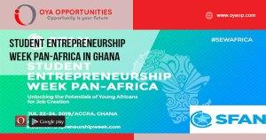 Student Entrepreneurship Week Pan-Africa in Ghana