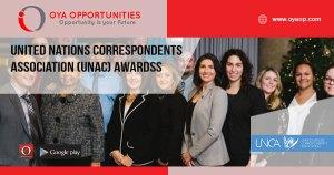 United Nations Correspondents Association (UNAC) Awards