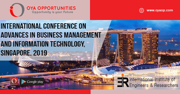 ICABMIT Conference 2019, Singapore