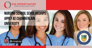 Nursing School Scholarships | Apply at Chamberlain University