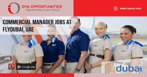 Commercial Manager jobs at flydubai, UAE