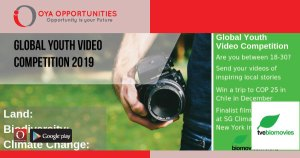 Global Youth Video Competition 2019
