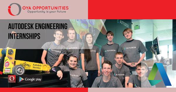 Autodesk Engineering Internships