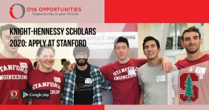Knight-Hennessy Scholars 2020 | Apply at Stanford