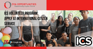 ICS Volunteer Program | Apply at International Citizen Service