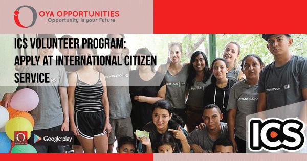 ICS Volunteer Program | Apply at International Citizen Service