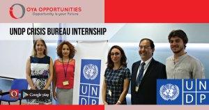 UNDP Crisis Bureau Internship