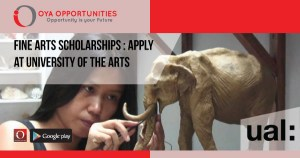 Fine Arts Scholarships | Apply at University of the Arts London