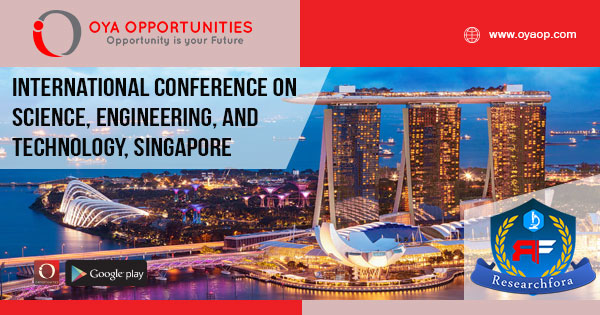 International Conference on Science, Engineering, and Technology 2020, Singapore