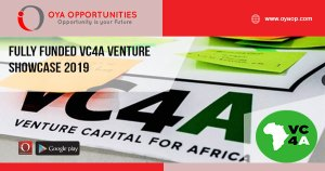 Fully Funded VC4A Venture Showcase 2019