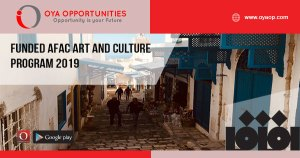 Funded AFAC Art and Culture Program 2019