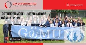 Göttingen Model United Nations (GÖMUN) 2019