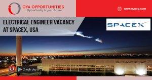 Job Vacancies at SpaceX, USA