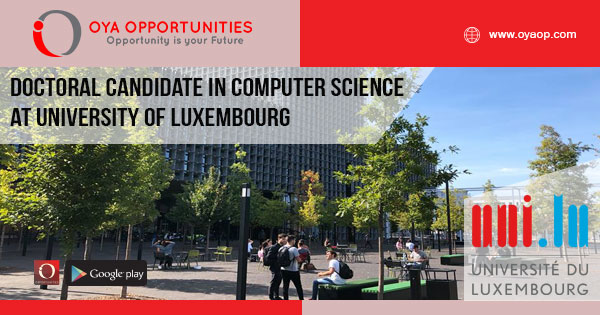 Research Jobs at the University of Luxembourg