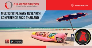 Multidisciplinary Research Conference 2020 Thailand