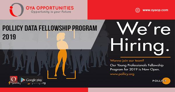 Pollicy Data Fellowship Program 2019