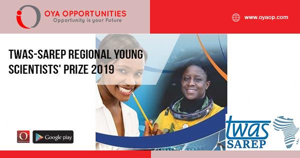TWAS-SAREP Regional Young Scientists' Prize 2019