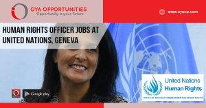 UN Jobs in Switzerland