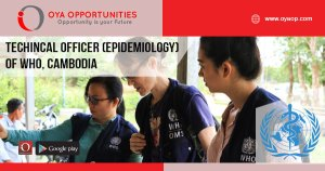 Technical Jobs at WHO, Cambodia