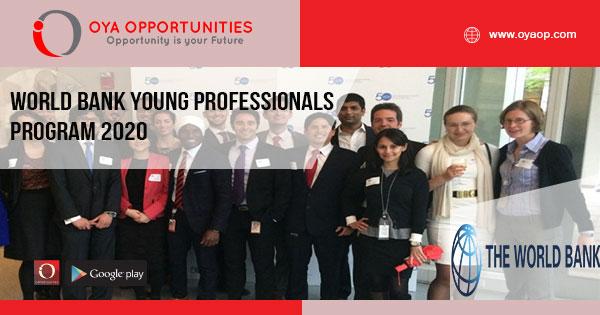 World Bank Young Professionals Program 2020