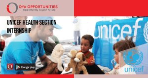 UNICEF Health Section Internship