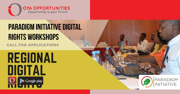 Paradigm Initiative Digital Rights Workshops