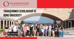 Transformer Scholarship at Bond University