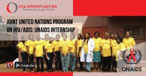 Joint United Nations Program on HIV/AIDS | UNAIDS Internship