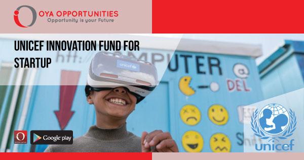 UNICEF Innovation Fund for Startup