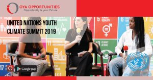 United Nations Youth Climate Summit 2019