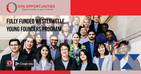 Fully Funded Westerwelle Young Founders Program